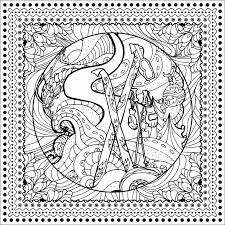 Disegni Da Colorare Per Adulti Mandala 50 Mandala Di Natale Da