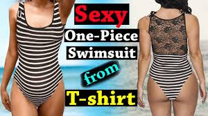 One Piece Swimsuit Pattern Cool Design Inspiration