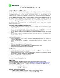 cover letter investment banker resume sample investment banker cover letter investment banker resume actuary exampl experienced investment sampleinvestment banker resume sample extra medium size
