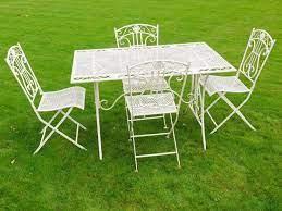 patio furniture wrought iron patio set