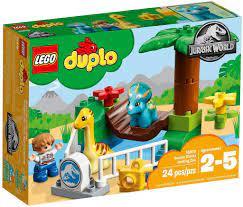 Đồ chơi lắp ráp LEGO DUPLO 10879 - Xếp Hình Khủng Long của Bé (LEGO DUPLO  10879