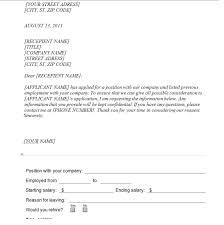 Sample Letters Archives Sample Letter Verification Of Employment