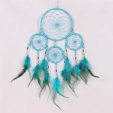 Colored Dream Catchers Best 32 Colors Dream Catcher Circular Colorful Feathers Wall Hanging