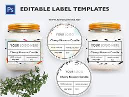Abel Templates Psd Editable Label Template Id24 Stationery Templates Creative Market 21
