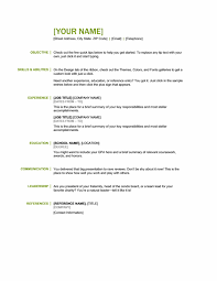 Basic Skills For A Resume This R Sum Keeps It Simple And Classy It Showcases What You