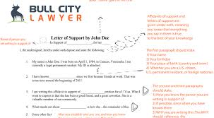 Uscis Letters Of Support Guide For Immigration Bull City