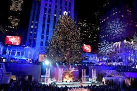 Rockefeller Center Christmas Tree Lighting 2018 Street