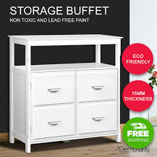 kitchen buffet sideboard wooden dressers cabinet storage table cupboard white now