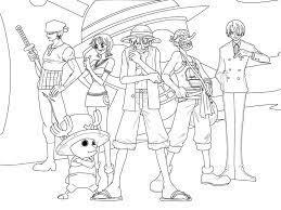 Tuyển tập các bức tranh tô màu One Piece dành cho các bé | One piece, Phim  hoạt hình, Anime