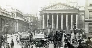 e08drf royal exchange london england uk circa 1890 s image shot 1890