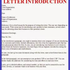Collection Of Solutions Writing New Business Introduction Letter