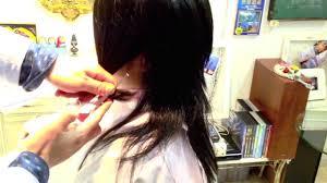 Howlayerlongcutting中島美嘉 髪型 ボブ髪型 ウルフレイヤー髪型