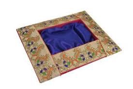Saree Tray Decoration Blue Decorative Wedding Engagement Mehendi Saree Gift Trousseau 93