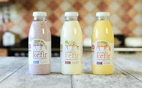 kefir drink. flavoured kefir drinks drink