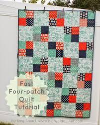 Fast Four-Patch Quilt Tutorial   Patch quilt, Quilt tutorials and ... & Fast Four-Patch Quilt Tutorial Adamdwight.com