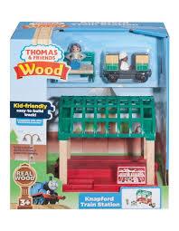 wooden railway knapford station image 1