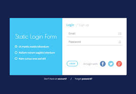 Sign Up Form Html Template 30 Best Html Login Registration Form Templates 2016