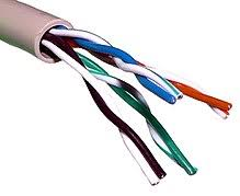 twisted pair wikipedia twisted pair wiring diagram unshielded twisted pair cable with different twist rates Twisted Pair Wiring Diagram