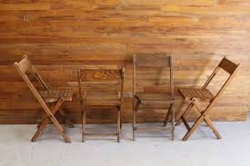 wooden wedding chairs