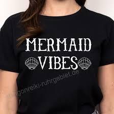 Enjoythespirit Frauen T Shirt Meerjungfrau Vibes T Shirt Unisex
