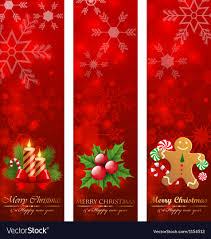 Christmas Vertical Banners Royalty Free Vector Image