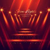 spot lights stage enterance background76 lights