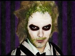 the tim burton clic is back when you go with this beetlejuice makeup the licensed kit includes white base makeup a black makeup stick and tooth