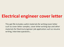 Engineering Jobs Cover Letter Fresher Electrical Engineer Cover Letter