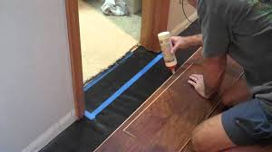 Laminate and door jambs - YouTube