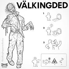 Ikea Instruction Manuals Ikea Instructions For Horror Fans Horror Fans And Movie