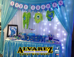 Monster Inc Baby Shower Decorations Events