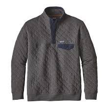 Patagonia Men's Cotton Quilt Snap-T® Pullover & M'S COTTON QUILT SNAP-T P/O, ... Adamdwight.com