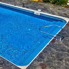 inground pool vinyl over steps