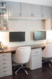 double desks for home office. Custom Desk Build Part Two - Concrete \u0026 Lace Double Desks For Home Office