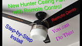 how to install a ceiling fan remote 5xxxx series models 20 50