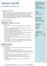 Java Web Sphere Developer Resume Impressive J48EE Developer Resume Samples QwikResume