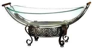 glass centerpiece bowl set metal large curved fl decorative bowls for centerpieces australia tables