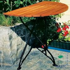 rebecca folding half round table by haste garden