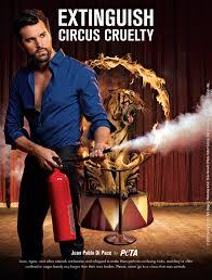 peta ads. Exellent Ads PETA Print Ad  Extinguish Circus Cruelty With Peta Ads I