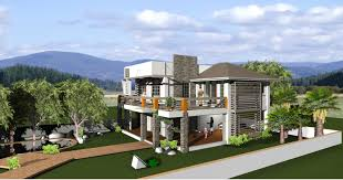 Interesting Interior Exterior Unique House Designer Home Design - House designs interior and exterior