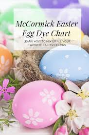 Mccormick Food Coloring Chart Color Pages Color Pages Easter Egge Chart Mccormick
