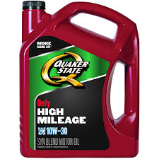 Quaker State High Mileage 10w 30