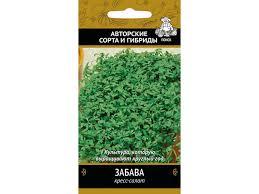 <b>Кресс</b>-<b>салат Забава 1 гр</b> купить по цене 3.9 руб. в ОБИ
