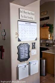 organising home office. Ideas On How To Organize Your Familys Schedules School Papers Etc Without Taking Up Any Counter Home Office Files Organising Spac