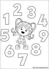 Small Picture Umizoomi coloring pages on Coloring Bookinfo