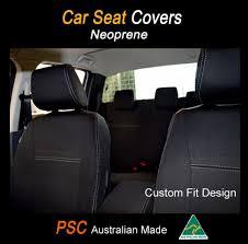 seat covers fit toyota yaris front rear 100 waterproof premium neoprene