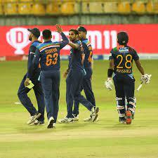 India vs Sri Lanka 1st T20I 2021 ...