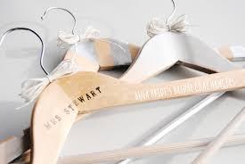 diy wedding coat hangers
