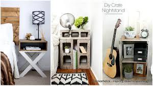 Diy Nightstand 33 Simply Brilliant Cheap Diy Nightstand Ideas Homesthetics