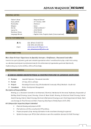 ADNAN MAQSOOD RESUME 1 PERSONAL DETAIL Father's Name : Maqsood Ahmed Date  of Birth : 21st ...